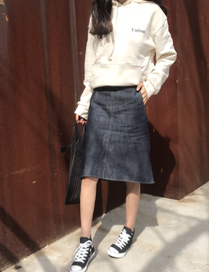 james denim skirt